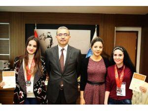 Genç TEMA Üyelerinden Rektör Güvenç'e Ziyaret