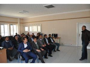 Sincik'te Arıcılık Kursu Açıldı