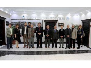 Türk Kızılayı Derneği Talas Şubesi'nden Başkan Palancıoğlu'na Ziyaret