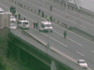 Boğaziçi Köprüsü trafiğe açıldı