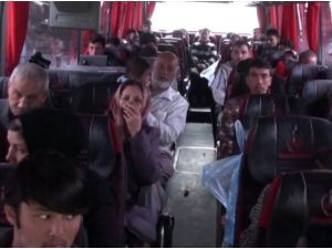 Amasya'da 43 Kaçak Göçmen Yakalandı