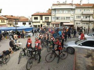 Bisikletçilerden Eskişehir Polisine Sitem