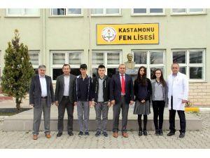 Fen Lisesi'nin İki Projesi, TÜBİTAK Bölge Sergisine Davet Edildi