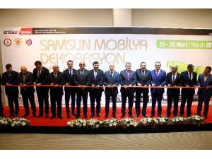 Samsun'da Mobilya Ve Dekorasyon Fuarı Açıldı