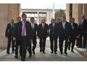 Kılıçdaroğlu, Meclis Başkanı Kahraman'ı Ziyaret Etti
