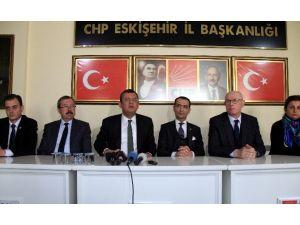 CHP Grup Başkanvekili Özgür Özel Eskişehir'de