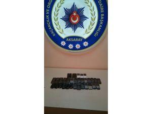 Aksaray'da 32 Adet Kaçak Telefon Ele Geçirildi