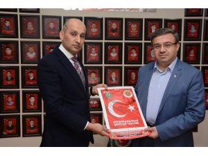 AK Parti Heyeti Türkiye Harp Malulü Gaziler Şehit Dul Ve Yetimleri Derneği'ni Ziyaret Etti