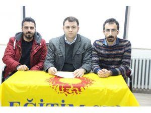 Eğitim-sen Ankara Olayını Kınadı
