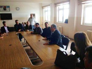 Özkan'dan Altınşehir Anadolu Lisesi'ne TÜBİTAK Ziyareti