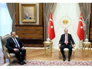 Cumhurbaşkanı Erdoğan Sayıştay Başkanı Akyel'i Kabul Etti