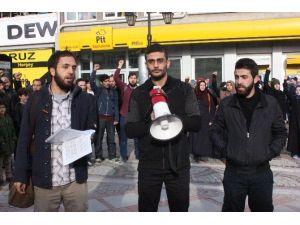 Edirne Rabia Platformu Üyelerinden Ankara'daki Patlamaya Kınama