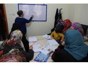 Haliliye'de Yetişkin Bayanlara Okuma Yazma Kursu