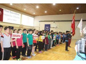 Okul Sporları Masa Tenisi Kız-erkek Grup Müsabakaları Bilecik'te Başladı