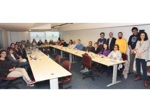İzmirli Genç Girişimcilere Avrupalı Konuklar