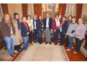 Tcdb İzleme Grubu Başkan Gürkan'a Rapor Sundu