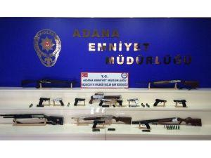 Dört İlde Silah Kaçakçılığı Operasyonu: 20 Gözaltı