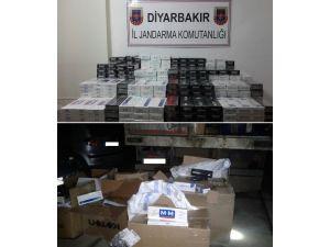 Diyarbakır'da 6 Bin 670 Paket Kaçak Sigara Ele Geçirildi