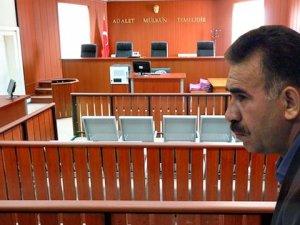 Mahkeme Heyetini Abdullah Öcalan'lı Tehdide 3.5 Yıl Hapis İstemi