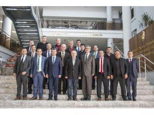 Ege'deki OSB Müdürleri, Uşak OSB'yi Ziyaret Etti