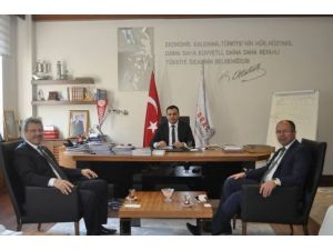 Kayseri Şeker'den Orta Anadolu Kalkınma Ajansına Ziyaret