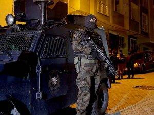 Terör operasyonlarında 320 kişiye gözaltı