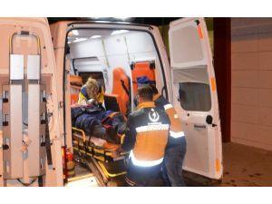 Fatsa'da Motosiklet Kamyonete Çarptı: 1 Yaralı