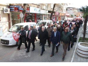 CHP Edremit İlçe Başkanlığı Terörü Lanetledi