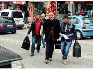 Nevşehir'de Paralel Yapı Operasyonunda 8 Gözaltı