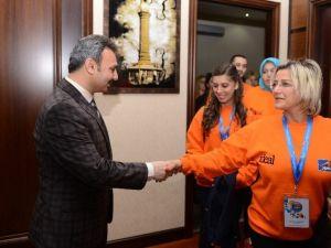 Anı Tur'dan Başkan Külcü'ye Ziyaret