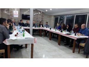 Kent Konseyi Toplantısı Yoncalı Mercan Termal Otel'de Yapıldı