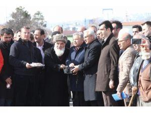 Piri Sami Hazretleri Türbe Camisi Temel Atma Töreni Gerçekleştirildi