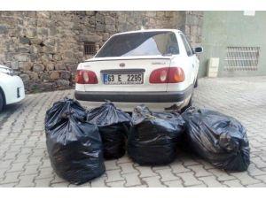 Şanlıurfa'da 61 Kilo Esrar Ele Geçirildi