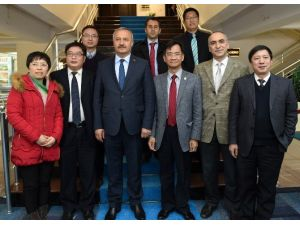 Büyükşehir, Çinli Akademisyenleri Ağırladı