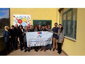 Afyonkarahisar Halk Eğitim Merkezi Proje Ekibi İtalya'dan Afyonkarahisar'a Döndü