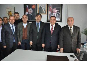 AK Parti Heyetinden Hasköy İlçesine Ziyaret