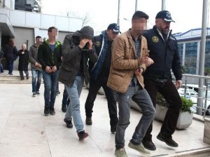 Bursa'da Terör Operasyonunda 8 Tutuklama