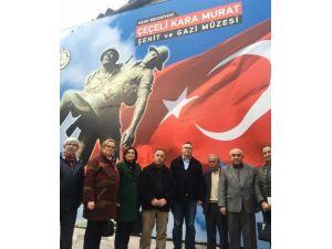 18 Mart Öncesi, Çeçeli Kara Murat Şehit Ve Gazi Müzesini Ziyaret