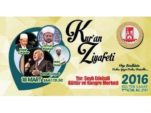 Şehitler Kur'an-ı Kerim Okunarak Anılacak