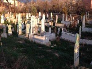 Mezarlıkta Kesik Bacak Paniği! Polis İhbar Üzerine Geldi, Şok Oldu
