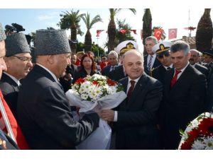 Atatürk'ün Mersin'e Gelişinin 93. Yıl Dönümü Törenlerle Kutlandı