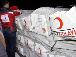 Terör ve savaş mağdurlarına Kızılay'dan yardım