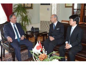 Japon Başkonsolostan Teşekkür Ziyareti
