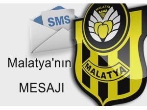 Alima Yeni Malatyaspor İçin Başlatılan Kampanya İle 15 Günde 780 Sms Atıldı