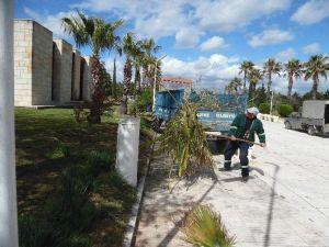 Silifke Belediyesi Kıbrıs Şehitliğini Temizledi