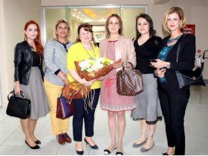 Mersin GİAD'tan Sedef Demirhan'a Ziyaret