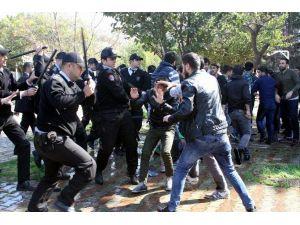 Antalya'da İzinsiz Nevruza Tomalı Müdahale