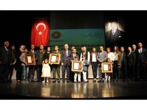 Aydın'da Madalya Töreninde Duygusal Anlar Yaşandı
