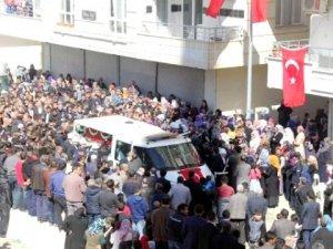 Şehit Polis Birecik'te Son Yolculuğuna Uğurlandı
