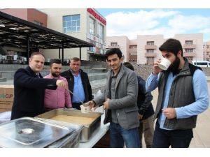 OMÜ'de 'Çanakkale Menüsü' İkram Edildi